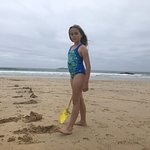 beautiful large expanse of beach