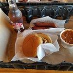 Rudys BBQ - Brisket & sausages
