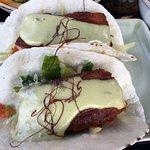 Pork belly bass with jalapeño aioli