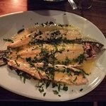 The mylos trout. It was recommended by the staff and was truly amazing!