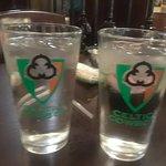 Celtic Cowboy glasses