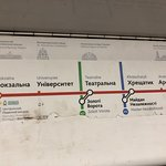 ภาพถ่ายของ Arsenalna Metro Station