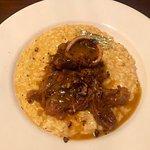 Saffron risotto with Ossobuco alla Milanese. Buon Appetito!