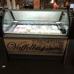 great selection of ice creams
