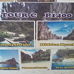 PLACES IN TOUR C