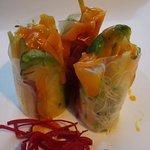 Mango & avo rolls (come in 6 ps)