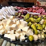 A couple of great platters from the Black Sheep for our bachelorette party at the winery.  They
