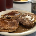 French Toast trio (cinnamon, banana, pumpkin)