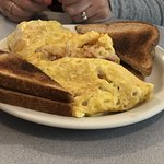 Omelet with Idaho potatoes