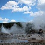 Bild från Upper Geyser Basin