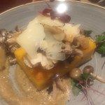Aridlaun Bistro polenta with mushrooms