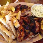 1/2 Bar-B-Que Chicken Plate