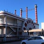 蒸気船のカジノと入口