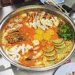 Tom Yum Pot, the signature dish