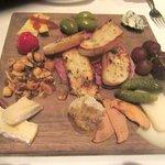 Cheese Platter, Island Prime Restaurant, San Diego, CA