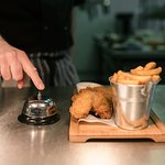 Our delicious fish & chips.