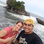 TANAH LOT TEMPLE with Gede