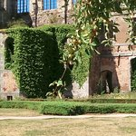 transept depuis le jardin