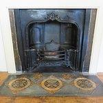 Tudor House Southampton - Victorian fireplace