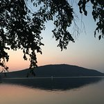 Devils Lake at Sunset