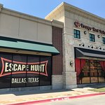 Side view of the escape room