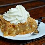Applepai with cream