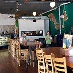 Nice bar and interior
