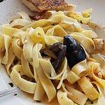 Seafood Pasta (gross!)