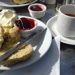 Afternoon cream tea!