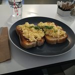 Lovely scrambled eggs