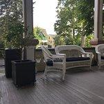 Antheneum hotel porch