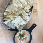 the beloved queso dip