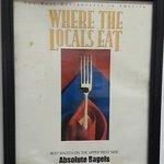 Award: Best bagels on the Upper West Side