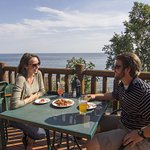 The best deck dining on Lake Superior.
