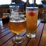 Saison & Rum Drink