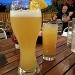 Belgian Wit & seconds on the Rum drink