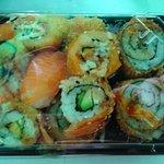 Sushi para levar 5€