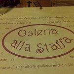 Foto de Osteria Alla Staffa