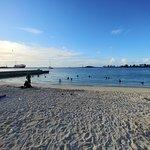 Junkanoo Beach around 5PM