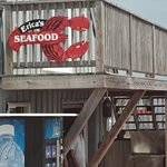 Seafood Shack/picnic in Harpswell, Maine.