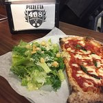 Lunch special- 1/2 Caesar salad & Margherita pizza