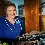 Santa Cruz Mountain Brewery bartender