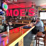 You won't forget where you are: MOE'S!