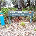 White Sands Walk Foto