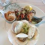 Seafood Entree - Shellfish Plate