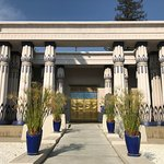 The outside of Rosicrucian Egyptian Museum