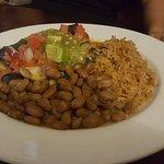 Blue Seafood Enchiladas, a bit salty