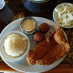 Fiddler's Fish Fry (Whitefish, Grits, Cole Slaw, Hush Puppies)