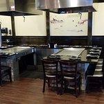 Hibachi Grill Tables