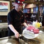 Hibachi Cooking